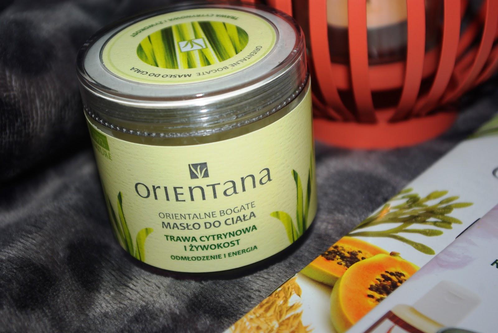 Orientalne bogate masło do ciała - Trawa cytrynowa i żywokost - Orientana