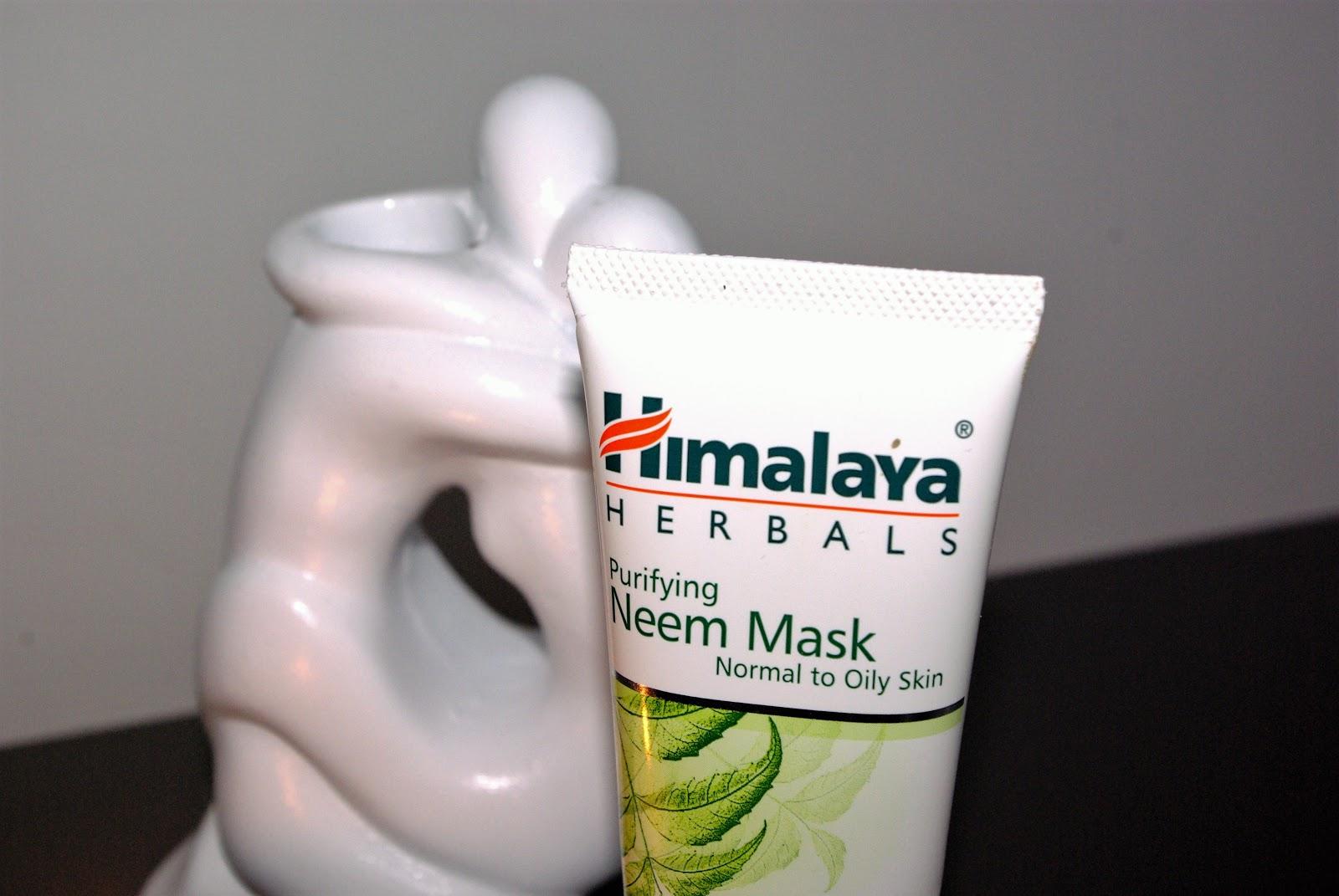 Maska do twarzy Himalaya Herbals.