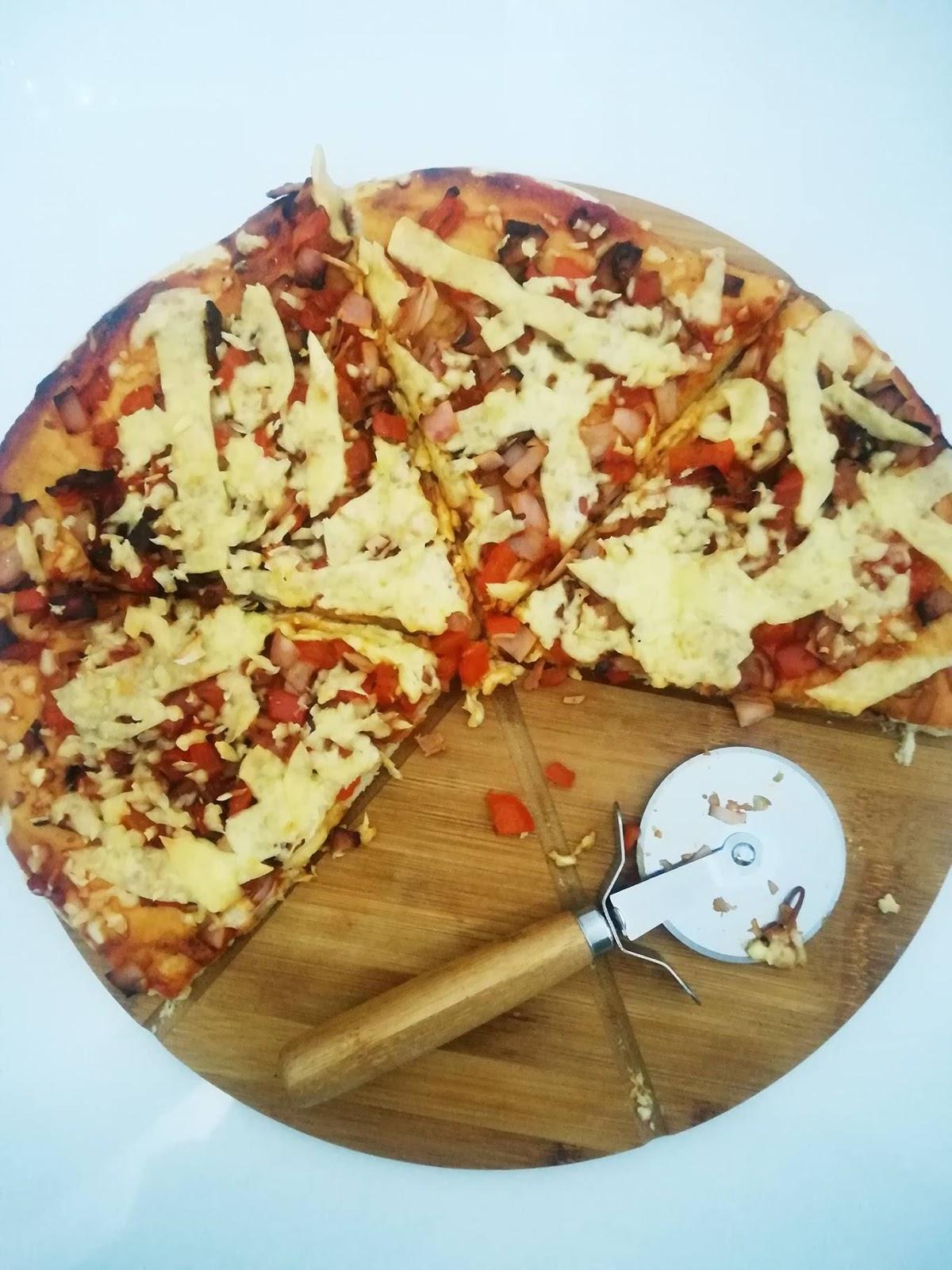 Swojska pizza - ciasto do pizzy