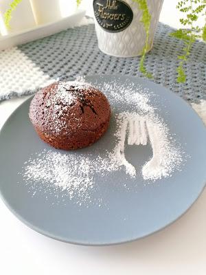 Domowa lava cake - ciastko z płynną czekoladą