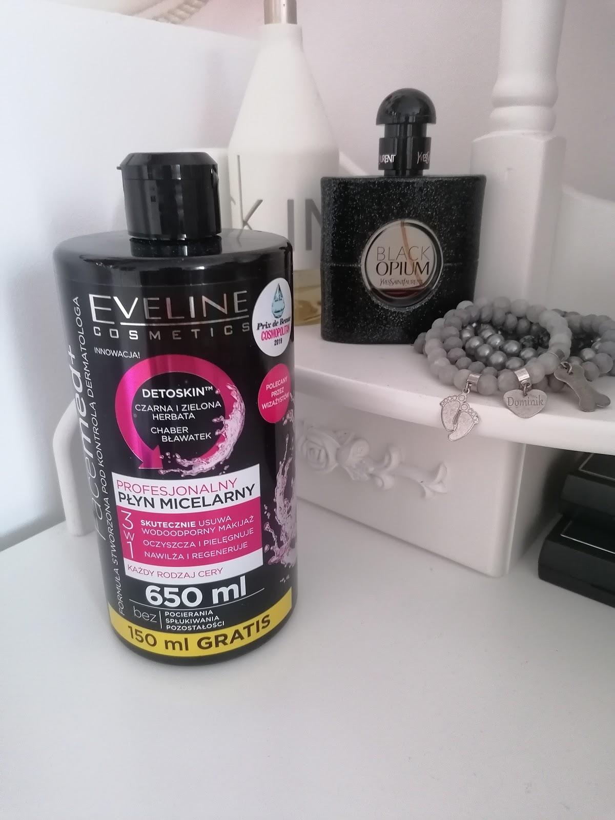 Profesjonalny płyn micelarny 3w1 – Eveline Cosmetics